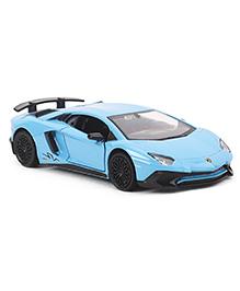 RMZ Die Cast & Pull Back Lamborghini Aventador Car Toy - Blue