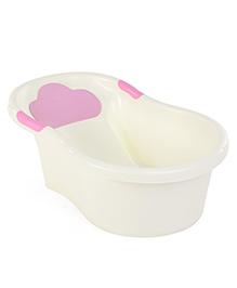 Bath Tub Love Melody Print - Cream & Pink