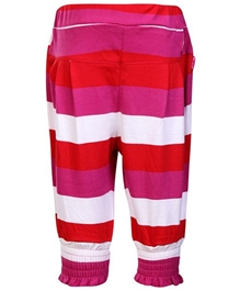 Hello Kitty - Frill Pattern Legging With Stripes