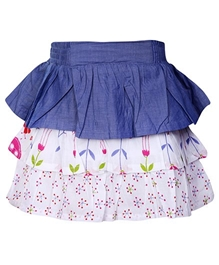 Hello Kitty - Floral Print Multi Layered Skirt