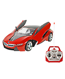 Planet Of Toys 5 Function Remote Control Racing Car - Red