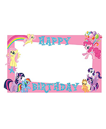 Party Propz My Little Pony Themed Photo Booth Frame - Pink