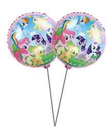 Party Propz My Little Pony Foil Balloon Set Of 2 - Multicolour