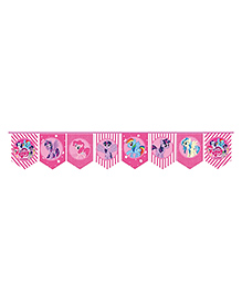Party Propz My Little Pony String Banner Pink - 8 Foot