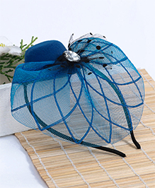Babyhug Hair Band Mesh Applique - Blue