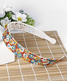 Babyhug Hair Band Flower Pattern - Multicolor