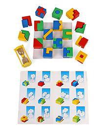 Virgo Toys Combi Cubes Game Multicolour - 32 Pieces
