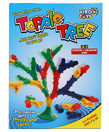 Virgo Toys Building Blocks Topple Tree Game - Multicolour