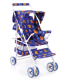 Mothertouch Avon Pram Easy To Fold And Carry - Blue
