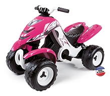 SMOBY - X POWER Battery Operated Ride On Pink