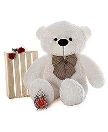 Skylofts 3 Feet Teddy Bear Soft Toys White - Height 30 Cm