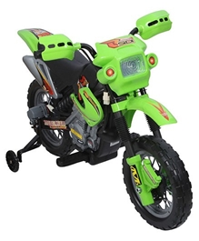 Fab N Funky - Battery Operated Toy Sport Bike Green