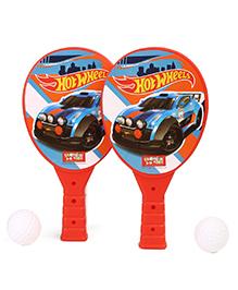 Hot Wheels Junior Racket Set  - Red