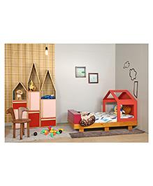 Arcedo Wooden Bunny Chair - Brown