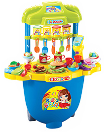 Toys Bhoomi Dough Kitchen Play Set - Multicolour