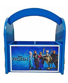 Li'll Pumpkins Frozen Wooden Pen Stand - Blue
