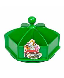 Li'll Pumpkins Jungle Revolving Pen Stand - Green
