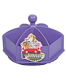 Li'll Pumpkins Jungle Revolving Pen Stand - Purple