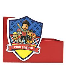 Li'll Pumpkins Small Wooden Book Shelf Paw Patrol Theme - Red
