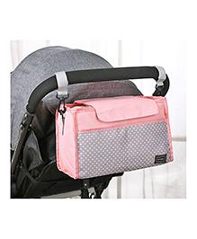 Babymoon Stroller Organizer Bag For Baby - Pink