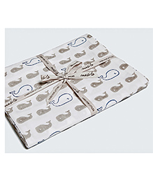 Masilo-Linen For Littles Fitted Cot Sheet - Off White