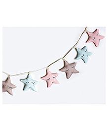 Masilo Linen For Littles Star Bunting - Multicolour