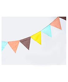 Masilo Linen For Littles Triangle Bunting - Multicolour