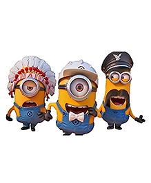 Party Propz Minion Cutout Yellow & Blue - Height 50.8 Cm - 2285579