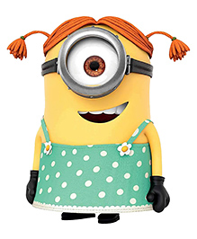 Party Propz Minion Cutout Yellow & Green - Height 50.8 Cm