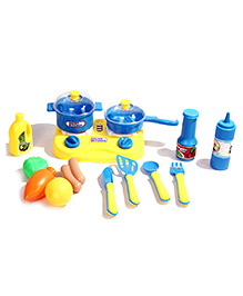 Toys Bhoomi Kitchen Cooking Set Multicolour - 16 Pieces