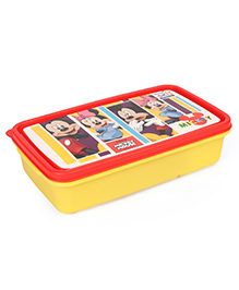 Disney Mickey & Minnie Lunch Box Set - Yellow & Red