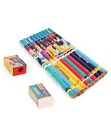 Apsara Disney Princess Pencils With Eraser & Sharpener - Set Of 10