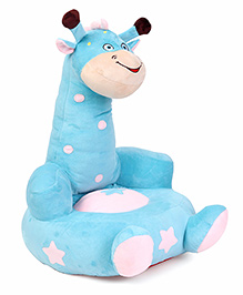 Benny & Bunny Giraffe Sofa Seat - Sky Blue White