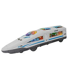 Vibgyor Vibes Friction Bullet Train With Lights & Sound - (Colour May Vary)