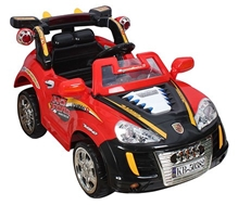 Fab N Funky Battery Operated Racing Car With Remote - Red