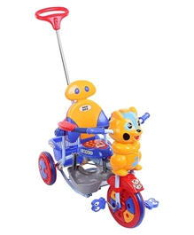 Mee Mee - Cat Tricycle With Push Handle And Basket