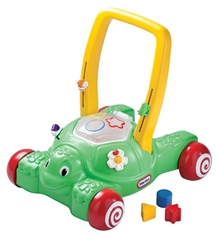 Little Tikes - 2 In1 Push And Play Turtle