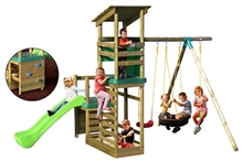 Little Tikes - Buckingham Climb Slide And Sand Swing Set