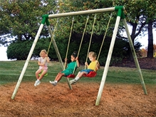 Little Tikes - Oslo Wood Swing Set 3 In 1