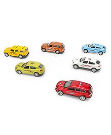 Marbles Diecast Metal Car Set Multicolor - Pack Of 6