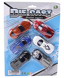 Marbles Die Cast Car Set Multicolour - Pack Of 6