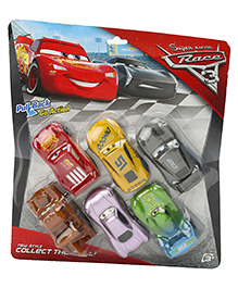 Marbles Race 3 Pull Back Action Car Set Multicolor - Pack Of 6