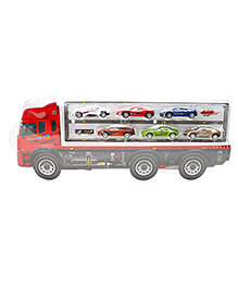 Marbles Truck & Cars Set Multicolour - Pack Of 7