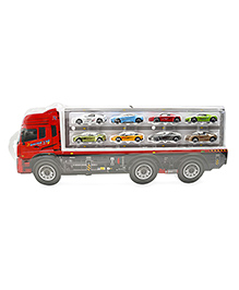 Marbles Truck & Cars Set Multicolour - Pack Of 9