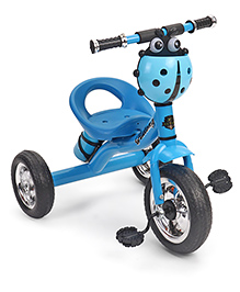 Tricycle With Water Bottle Carrier Ladybug Design- Blue
