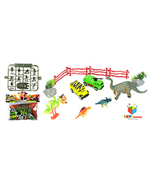 Toys Bhoomi Dinosaur Play Set Multicolour - 27 Pieces