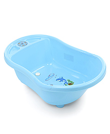 Musical Baby Bath Tub Dolphin Print - Blue