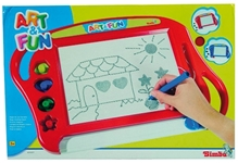 Art & Fun - Magic Drawing Board Red