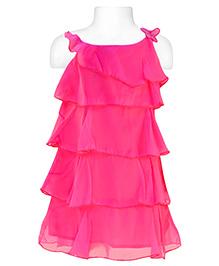 Nauti Nati - Singlet Pink Tiered Dress