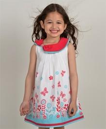 Nauti Nati - Sleeveless Border Print Dress